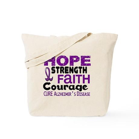 HOPE Alzheimer's Disease 3 Tote Bag