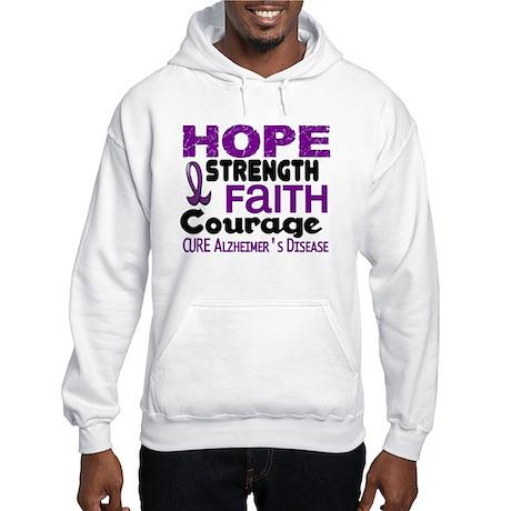 HOPE Alzheimer's Disease 3 Hooded Sweatshirt