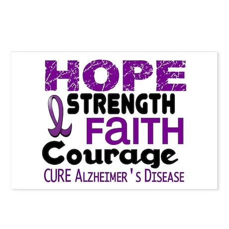 HOPE Alzheimer's Disease 3 Postcards (Package of 8