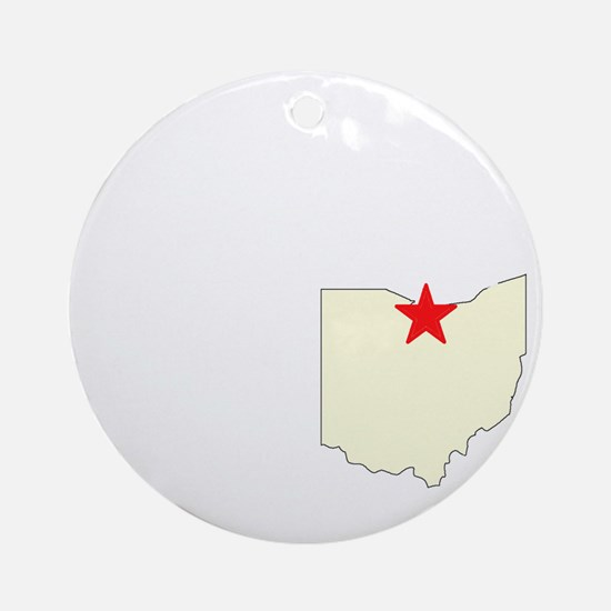 Get Away! To the Beautiful Gr Ornament (Round)