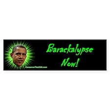 """Barackalypse Now"" Bumper Bumper Sticker"