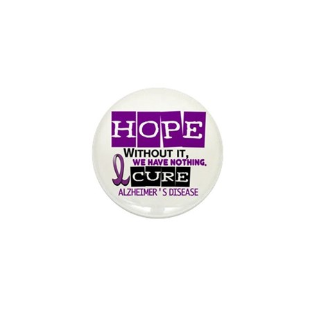 HOPE Alzheimer's Disease 2 Mini Button