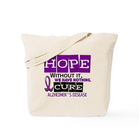 HOPE Alzheimer's Disease 2 Tote Bag