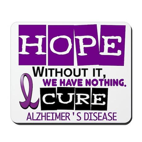 HOPE Alzheimer's Disease 2 Mousepad