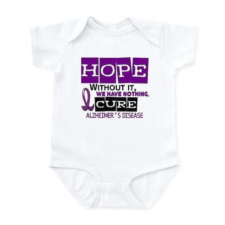 HOPE Alzheimer's Disease 2 Infant Bodysuit