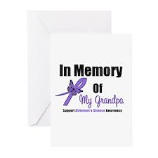 Alzheimer's Memory Grandpa Greeting Cards (Pk of 1
