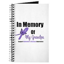 Alzheimer's Memory Grandpa Journal