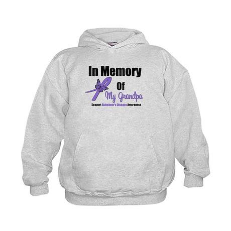 Alzheimer's Memory Grandpa Kids Hoodie