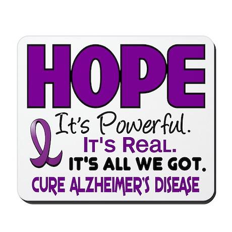 HOPE Alzheimer's Disease 1 Mousepad