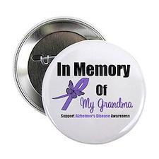 "Alzheimer's Memory Grandma 2.25"" Button"