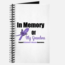 Alzheimer's Memory Grandma Journal