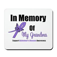 Alzheimer's Memory Grandma Mousepad