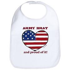Army Brat Snap Bib