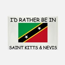 I'd rather be in Saint Kitts & Nevis Rectangle Mag