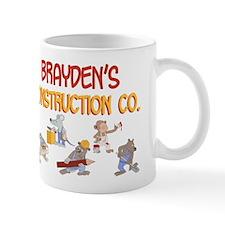 Brayden's Construction Co. Mug