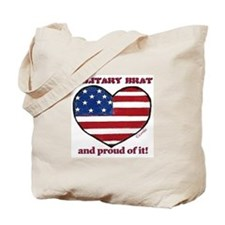 Military Brat Canvas Tote Bag