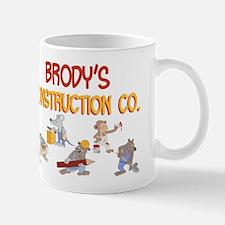 Brody's Construction Co. Small Small Mug