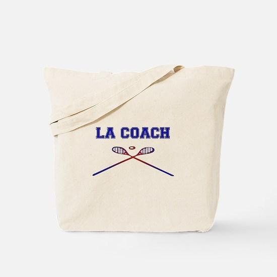 Lacrosse Coach Tote Bag