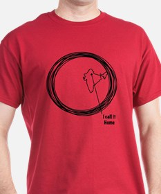I Call It Home (India Map) T-Shirt