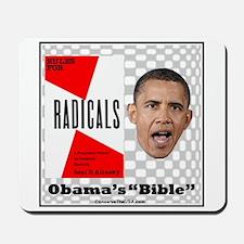 """Obama's Bible"" Mousepad"