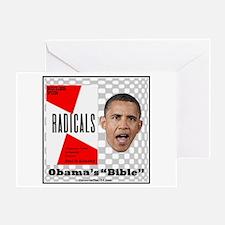 """""""Obama's Bible"""" Greeting Card"""