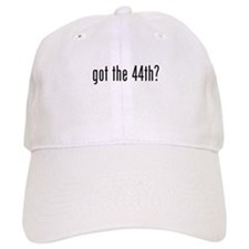 got 44? Prez Barack Obama Baseball Cap