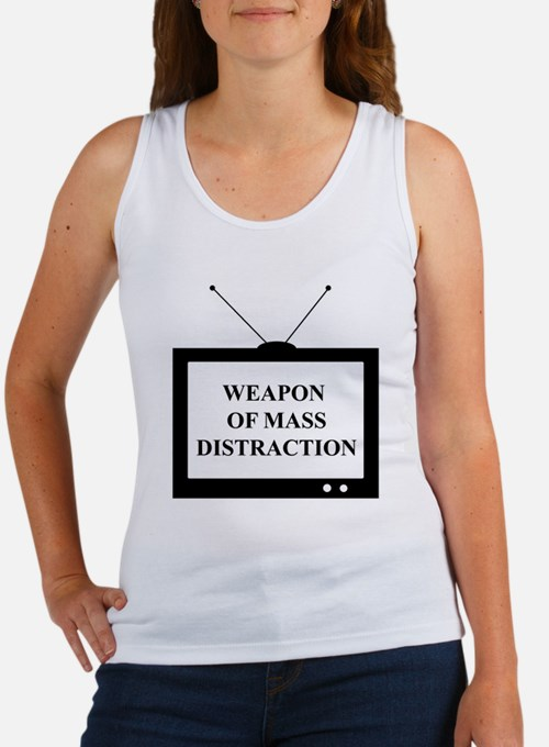Weapon of Mass Distraction Women's Tank Top