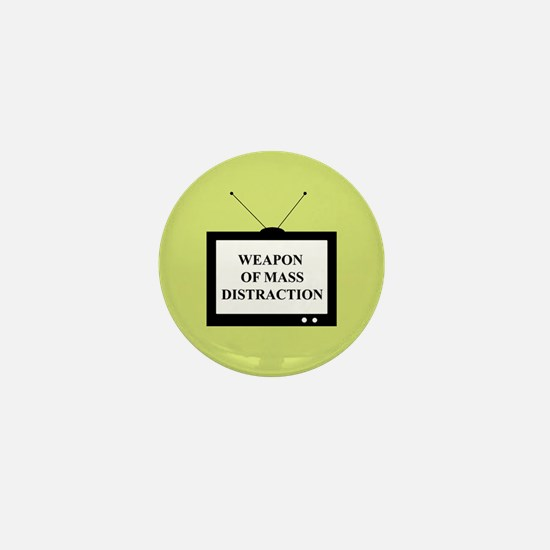 Weapon of Mass Distraction Mini Button