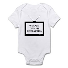 Weapon of Mass Distraction Infant Bodysuit