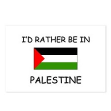 I'd rather be in Palestine Postcards (Package of 8
