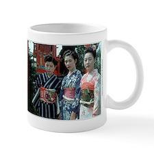 Japanese Geisha in kimono with obi - Gift Mug