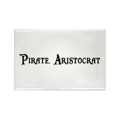 Pirate Aristocrat Rectangle Magnet (100 pack)