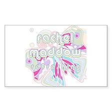 Rachel Maddow Refreshing Rectangle Decal