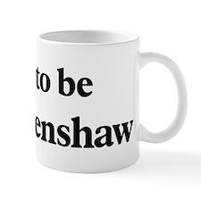 Soon to be Mrs. Crenshaw Mug