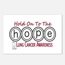HOPE Lung Cancer 6 Postcards (Package of 8)