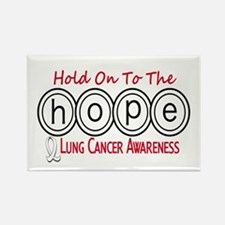 HOPE Lung Cancer 6 Rectangle Magnet (10 pack)
