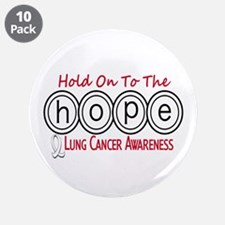 """HOPE Lung Cancer 6 3.5"""" Button (10 pack)"""