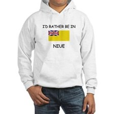 I'd rather be in Niue Hoodie