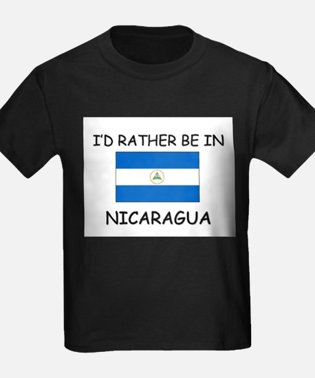 I'd rather be in Nicaragua T