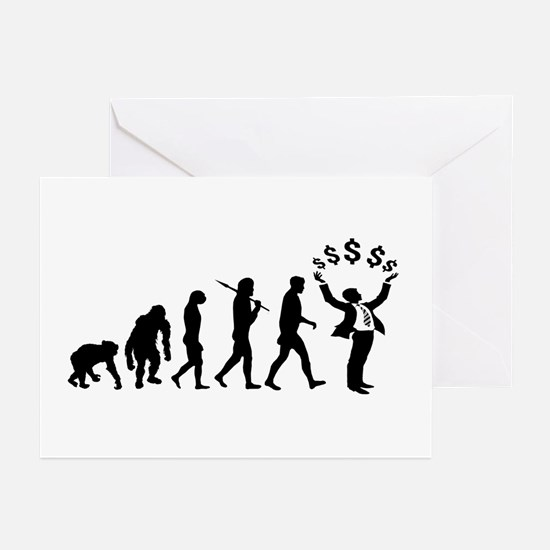 Finance Investing Banking Greeting Cards (Pk of 20