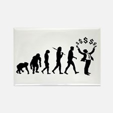 Finance Investing Banking Rectangle Magnet