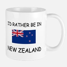 I'd rather be in New Zealand Small Small Mug