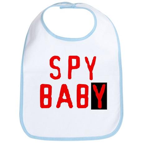 Spy Baby Bib