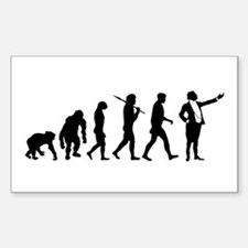 Opera Singers Gift Rectangle Decal