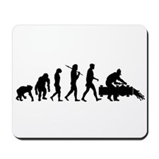 Oil Workers Mousepad