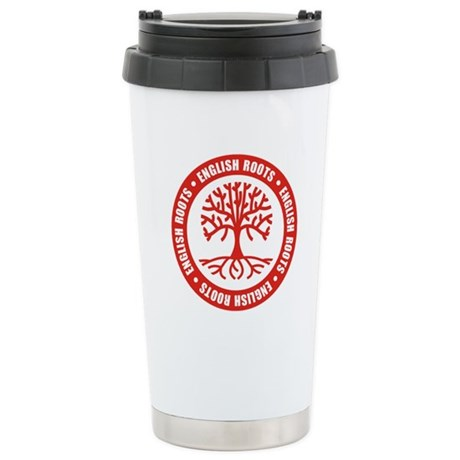 English Roots Stainless Steel Travel Mug