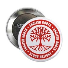 """English Roots 2.25"""" Button"""