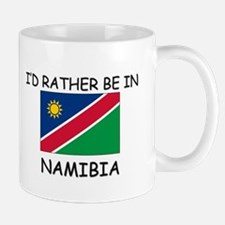 I'd rather be in Namibia Mug