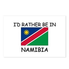 I'd rather be in Namibia Postcards (Package of 8)