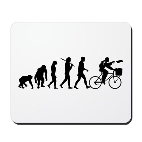 Newspaper Delivery Mousepad